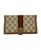 GUCCI(グッチ)の古着「オールド長財布」|ブラウン