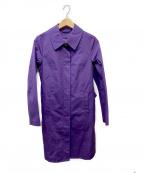 SHIPS()の古着「ダウンライナー付コート」|パープル