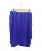 ISSEY MIYAKE()の古着「タイトスカート」|ブルー