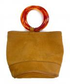 SIMON MILLER(サイモンミラー)の古着「バケツ型トートバッグ」|ブラウン
