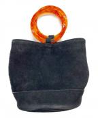 SIMON MILLER(サイモンミラー)の古着「バケツ型ハンドバッグ」|ブラック
