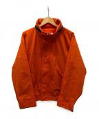 Lui's()の古着「ナイロンジャケット」|オレンジ