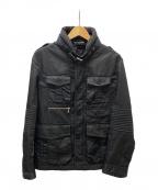 NEIL BARRETT(ニールバレット)の古着「ミリタリージャケット」 ブラック