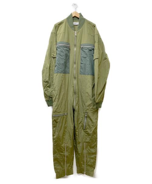 AMBUSH(アンブッシュ)AMBUSH (アンブッシュ) ナイロンオールインワン カーキ サイズ:Lの古着・服飾アイテム