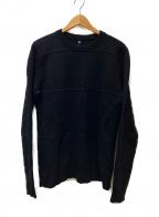 OAMC(オーエーエムシー)の古着「テクスチャードスウェッター」|ブラック