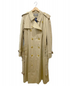 BURBERRY LONDON(バーバリーロンドン)の古着「ロングトレンチコート」|ベージュ