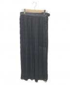 THE RERACS(ザ リラクス)の古着「プリーツスカート」|ブラック