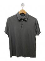 Zanone(ザノーネ)の古着「ポロシャツ」 グレー