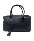 SMYTHSON(スマイソン)の古着「BURLINGTON Clipper bag」|ブラック