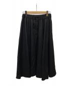 ()の古着「ウールロングスカート」 ブラック