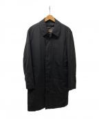 Paul Stuart()の古着「ライナー付比翼コート」 ブラック