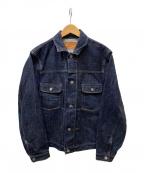 PHIGVEL MAKERS(フィグベルマーカーズ)の古着「デニムジャケット」|インディゴ
