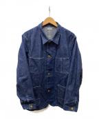 PHIGVEL MAKERS(フィグベルマーカーズ)の古着「カバーオール」|インディゴ