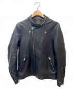 MR.OLIVE(ミスターオリーブ)の古着「ダブルライダースジャケット」|ブラック