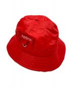 SUPREME(シュプリーム)の古着「Cordura Pocket Bell Hat」|レッド
