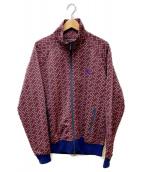 ()の古着「トラックジャケット」|ワインレッド
