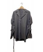 ()の古着「PUNK Long Sleeves Shirt type t」 ブラウン