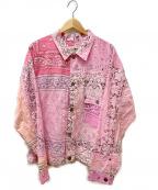 NEXUSVII(ネクサスセブン)の古着「バンダナジャケット」|ピンク
