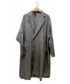 ()の古着「ナイロンチェスターコート」|グレー