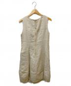 daisy lin for foxey(デイジーリンフォクシー)の古着「ノースリーブワンピース」|ベージュ
