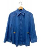 MM6 Maison Margiela(エムエムシックス メゾンマルジェラ)の古着「デニムシャツ」|インディゴ