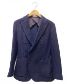 ETONNE(エトネ)の古着「ダブルウールジャケット」|ネイビー