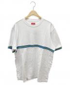 SUPREME()の古着「フロントラインTシャツ」|ネイビー