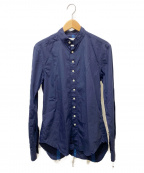 TAKAHIROMIYASHITA TheSoloIst.()の古着「Victorian Collorシャツ」|ネイビー