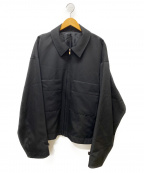 stein(シュタイン)の古着「OVER SLEEVE DRIZZLER JACKET」|ブラック