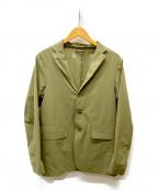 DESCENTE PAUSE(デサントポーズ)の古着「パッカブルジャケット」 オリーブ