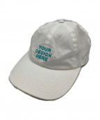 doublet(ダブレット)の古着「DOUBLE WORD 3D EMBROIDERY CAP」 ホワイト
