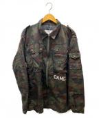 OAMC(オーエーエムシー)の古着「PEOPLE FOR PEACEジャケット」|カーキ