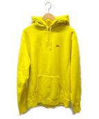 ()の古着「Small Box Hooded Sweatshirt」 イエロー