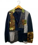 SOPHNET.()の古着「ファブリックミックスジャケット」 ブラック