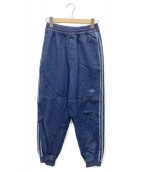 adidas(アディダス)の古着「デニムジョガーパンツ」 インディゴ