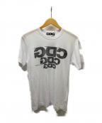 CDG(シーディージー)の古着「転写ロゴプリントTシャツ」 ホワイト