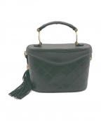 GIANNI VERSACE(ジャンニヴェルサーチ)の古着「オールドバニティバッグ」|ブラック
