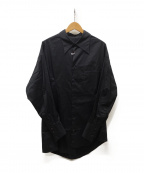 sulvam(サルバム)の古着「BROAD OVER SHIRT」|ブラック