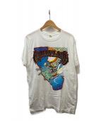 ()の古着「80'sプリントTシャツ」 ホワイト
