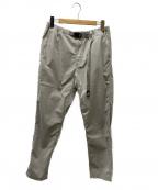 GRAMICCI(グラミチ)の古着「KANTIAN PANTS」|ライトグレー