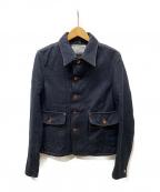 KOLOR(カラー)の古着「デニムジャケット」|インディゴ