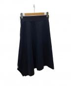 HYKE(ハイク)の古着「イージーロングスカート」|ブラック