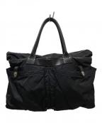 Felisi(フェリージ)の古着「ナイロンヘルメットバッグ」 ブラック