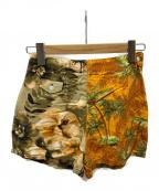 77circa(ナナナナサーカ)の古着「circa make aloha shorts」 オレンジ