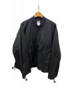 ()の古着「NYLON MICRO RIPSTOP BOMBER JAC」|ブラック