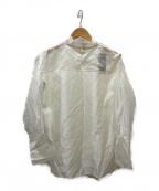 ARTISAN(アルチザン)の古着「シルク混シアーブラウス」 ホワイト