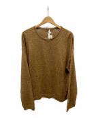 NEHERA(ネヘラ)の古着「リネン混ニット」|ブラウン
