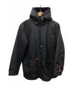 ()の古着「中綿ボアジャケット」|ブラック