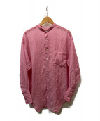 ()の古着「シアーシャツ」|ピンク