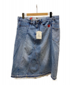 ()の古着「Docking Denim Skirt」|インディゴ